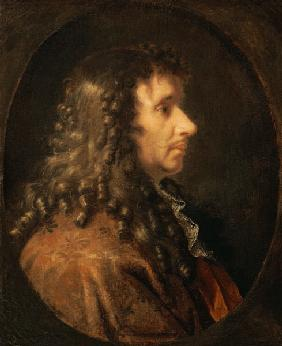 Portrait of Moliere (1622-73)