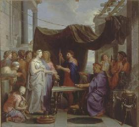 The Wedding of Moses and Zipporah (pair of 78385)