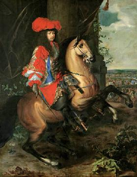Louis XIV., painting by Ch.Lebrun 1668