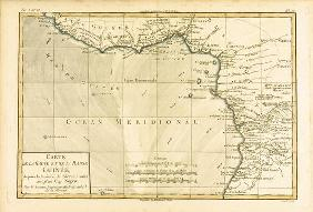 West Africa, from 'Atlas de Toutes les Parties Connues du Globe Terrestre' by Guillaume Raynal (1713