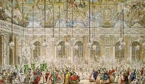 The Masked Ball at the Galerie des Glaces