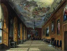 The Ball Room, Windsor Castle, from 'Royal Residences', engraved by Thomas Sutherland (b.1785), pub.