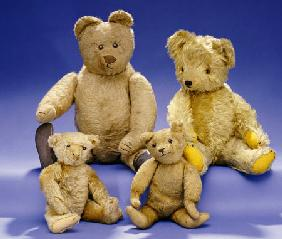 A Collection of Teddy Bears
