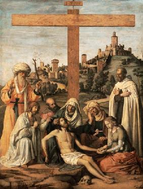 Cima da Conegliano, Giovanni Battista : Descent from the Cross