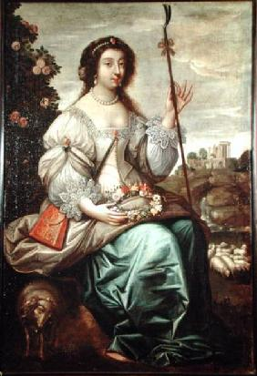 Julie d'Angennes (1607-71) as Astree