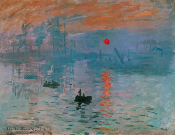Claude Monet - Amanecer