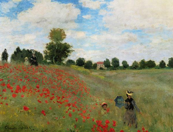 Claude Monet - Amapolas en Argenteuil