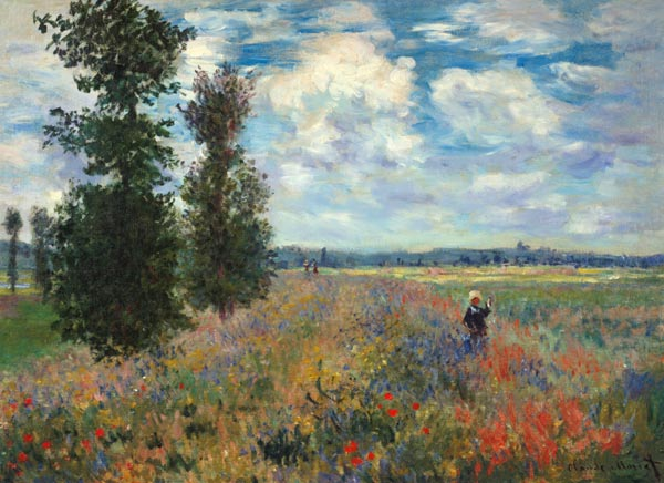 Titulo de la imágen Claude Monet - The Poppy field