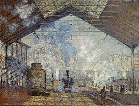Estación de Saint-Lazare #2