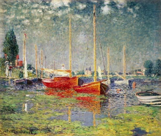 Los botes rojos, Argenteuil