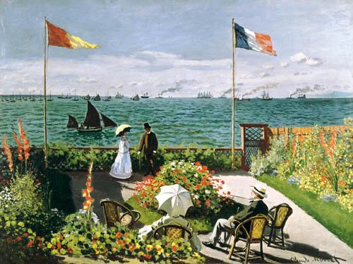 La Terraza en el Borde del Mar en Sainte Adresse