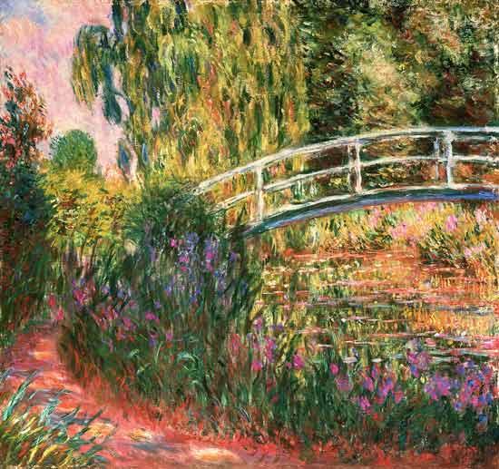 Puente Japonés en el Jardín de Giverny