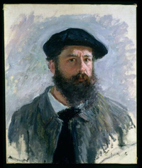Auto-retrato de Claude MONET