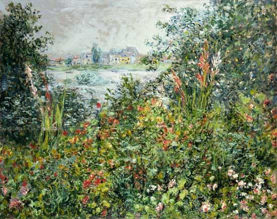 Flores de verano en Vetheuil