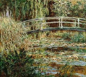 Monet, Claude : Waterlily pond and Japanes...