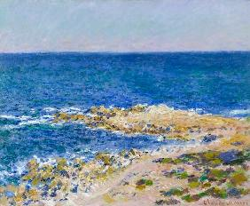 La grandee light blue at Antibes. 1888