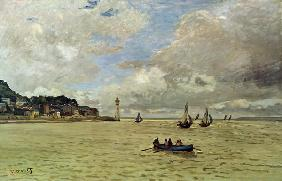 Monet, Claude : The lighthouse of Honfleur