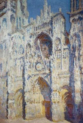 Rouen Cathedral in Full Sunlight: Harmony in Blue and Gold 1894