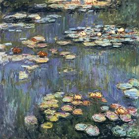 Monet, Claude : Water Lilies Giverny #4