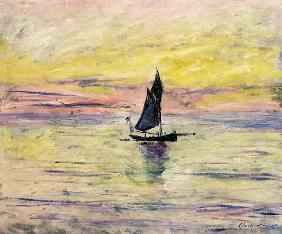The Sailing Boat, Evening Effect 1885