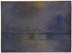 Charing Cross Bridge, The Thames, 1900-03