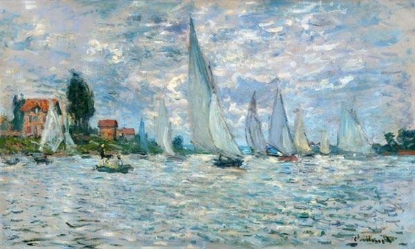 The Boats, or Regatta at Argenteuil 1874