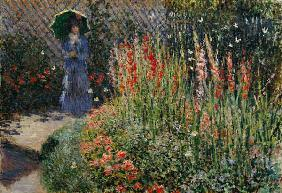 an analysis of gladioli by claude monet Gladioli,1873 by claude monet, shown with full margins – offset lithograph fine art print.