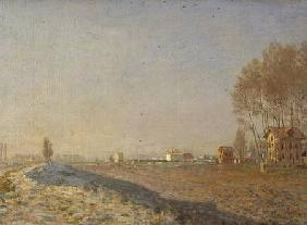 The Plain of Colombes, White Frost 1873