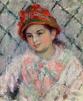 Portrait of Blanche Hoschede (1864-1947) as a Young Girl