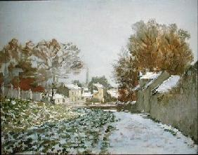 Snow at Argenteuil
