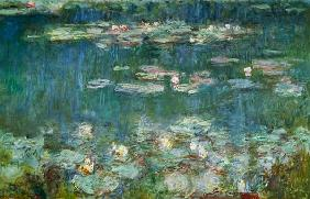 Waterlilies: Green Reflections 1914-18