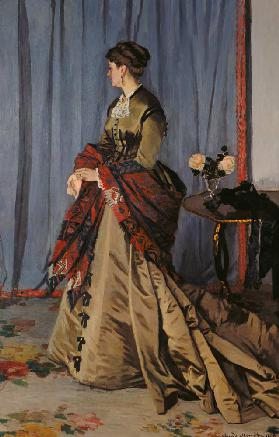 Portrait of Madame Louis Joachim Gaudibert