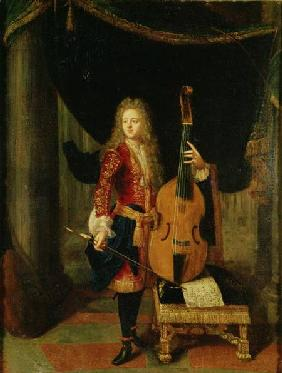 Portrait of Johann Schenck (1660-1712)