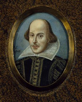Retrato de William Shakespeare (1564-1616)