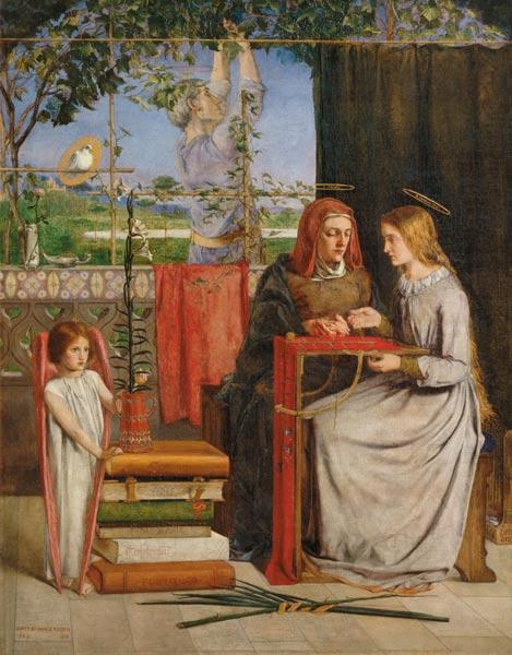 Rossetti / Girlhood of Mary Virgin