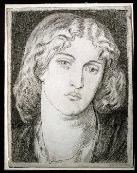 Fanny Cornforth (1824-1906) (pen & ink and grey wash on paper)