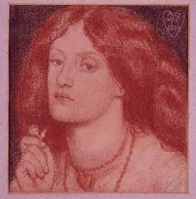 Portrait of Elizabeth Siddal (1834-62)