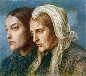 Christina G.Rossetti und Mutter 1877