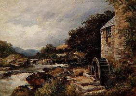The Mill on the Llugwy, Capel Curig