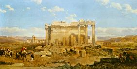 The Ruins of the Smaller Temple at Baalbeck