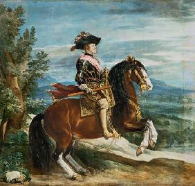 Philipp IV. to horse