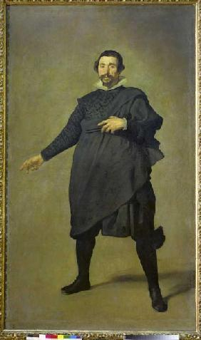 The court jester Pablo de Valladolid.