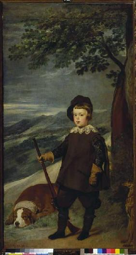 Prince Balthasar Carlos as a hunter