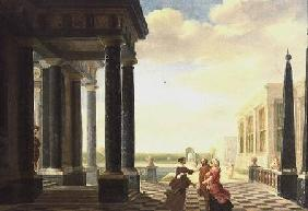 Figures in Conversation in a Classical Setting