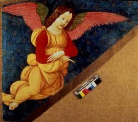 Angel: Panel from the Figline Altarpiece (fresco)