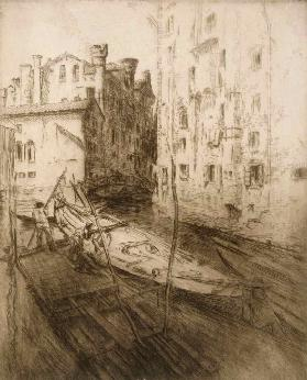 The Jewish Ghetto, Venice, from Impressions dItalie