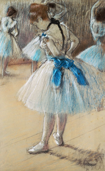Edgar Degas - Dancer (pastel)