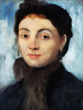 Portrait of Josephine Gaujelin