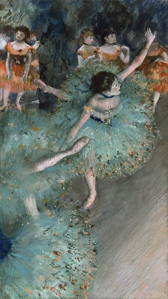Swaying Dancer (Dancer in Green)