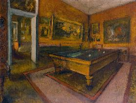 Billiard Room at Ménil-Hubert